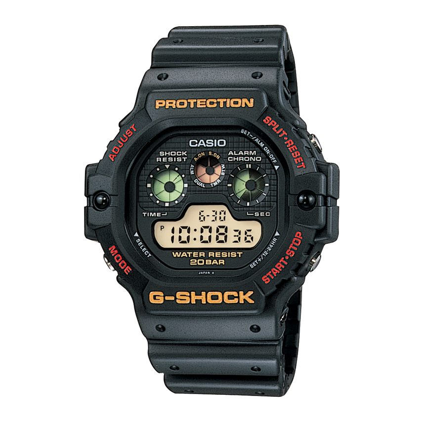 G-Shock experienced explosive sales in the 1990s, of pieces like the first strong resin digital watch