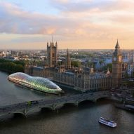 Temporary floating parliament on the Thames could save the UK millions, claims Gensler