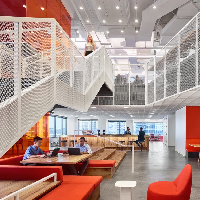 GLG Austin office by Clive Wilkinson