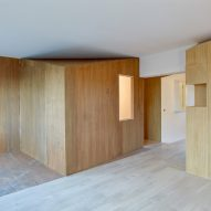 h2o architectes apartment in Sceaux