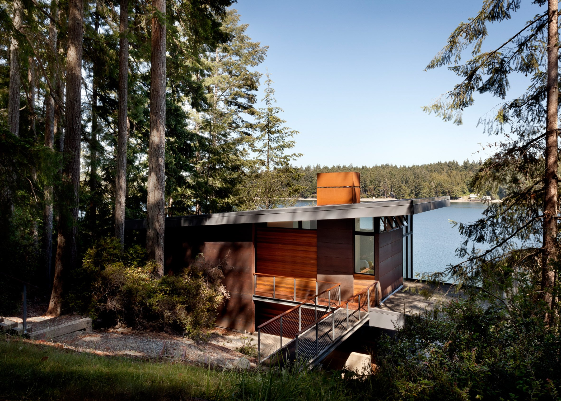 Herron Island cabin by First Lamp Architects