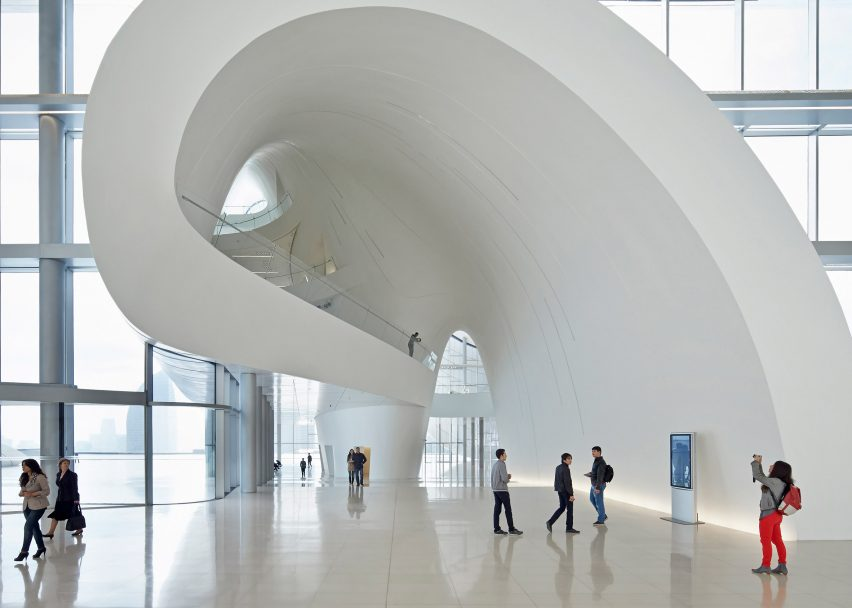 Heydar Aliyev Center Zaha Hadid Architects. Photograph by Hufton + Crow
