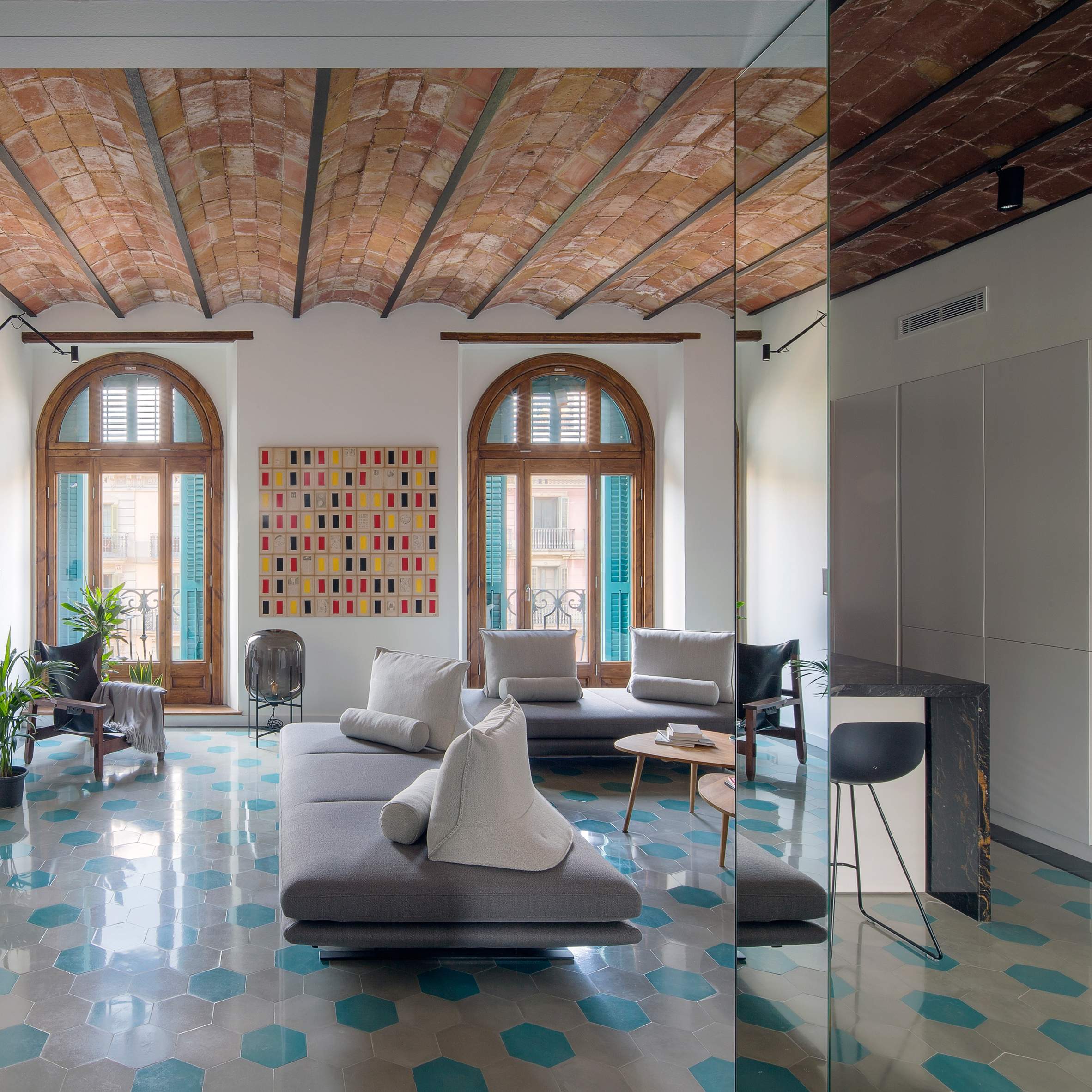 Barcelona Apartments Interior Design Dezeen