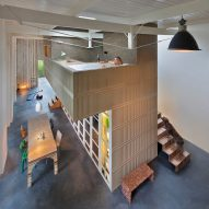 Rolf Bruggink and Niek Wagemans use salvaged materials to convert coach house into home