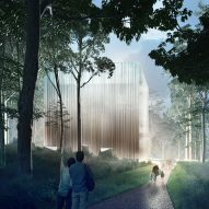 "CHROFI wins Australian conservatory contest with ""hovering cube"" design"