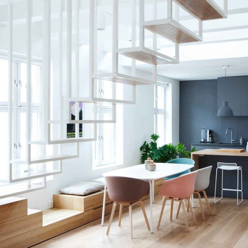 10 popular scandinavian home interiors on dezeen's pinterest boards