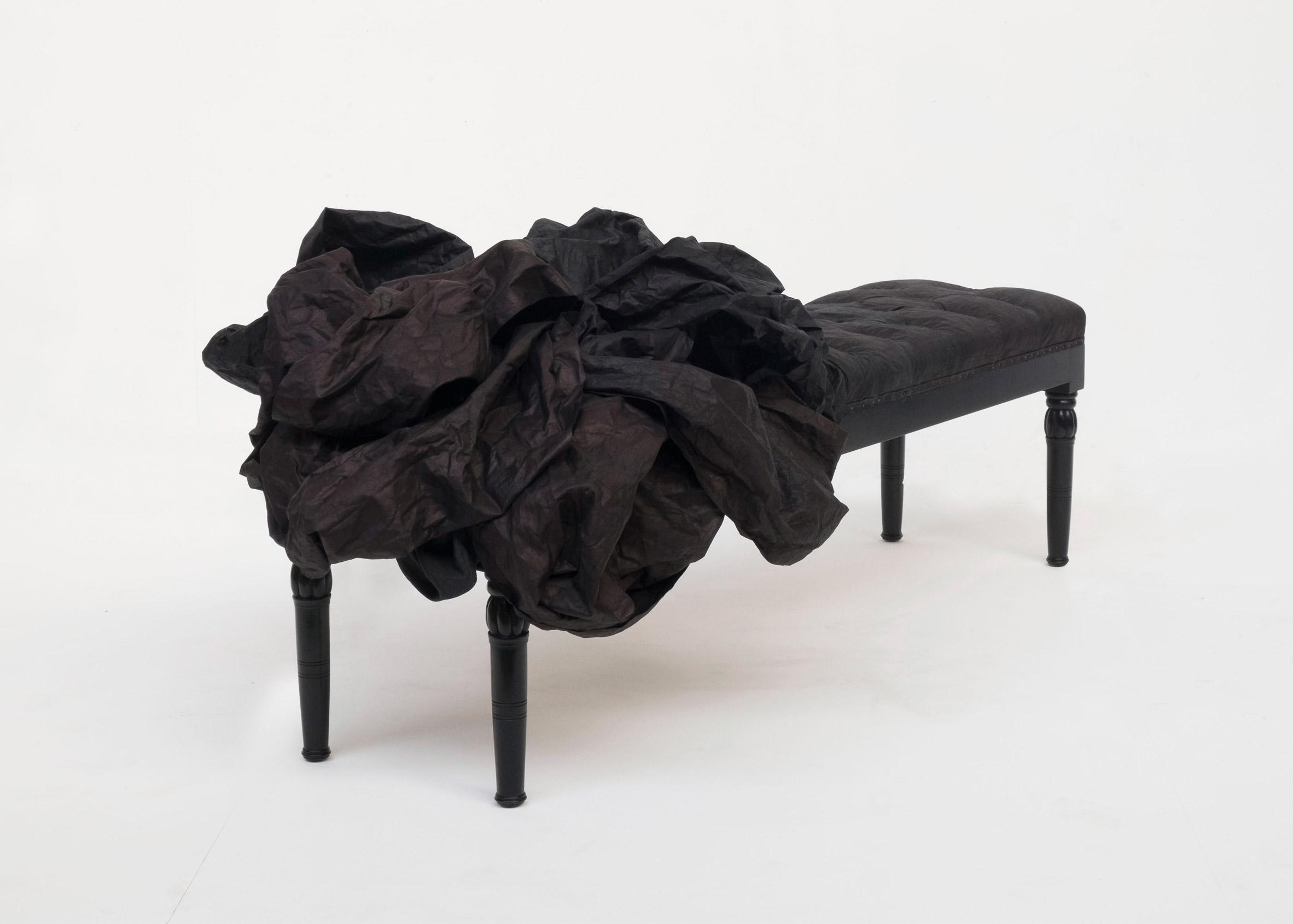 Indigo bench by James Plumb