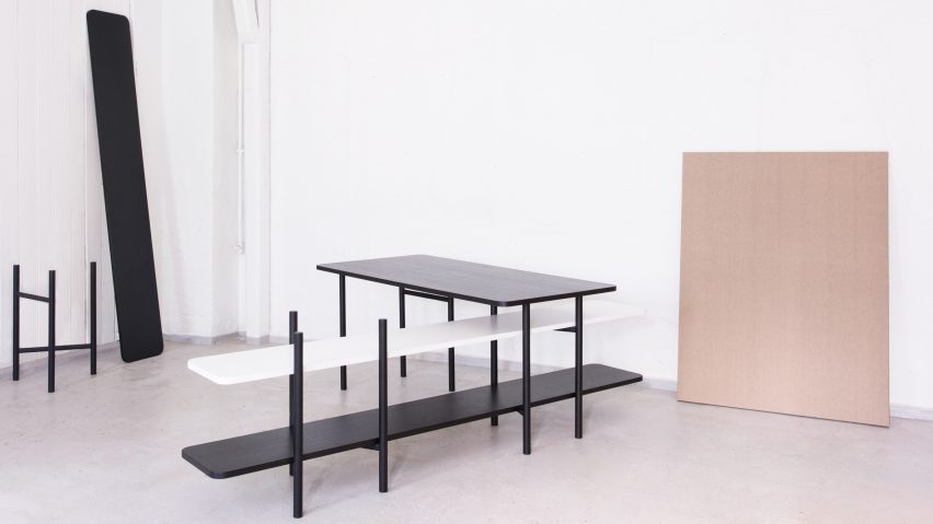 KI lights by Hallgeir Homstvedt modular workplace system