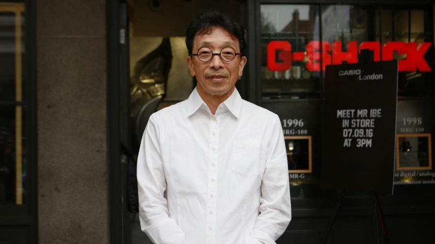 Casio's research and development chief engineer Kikuo Ibe