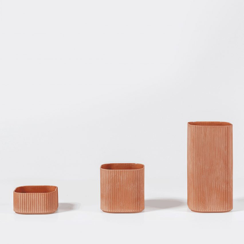 Kilo and Cobe flowerpots