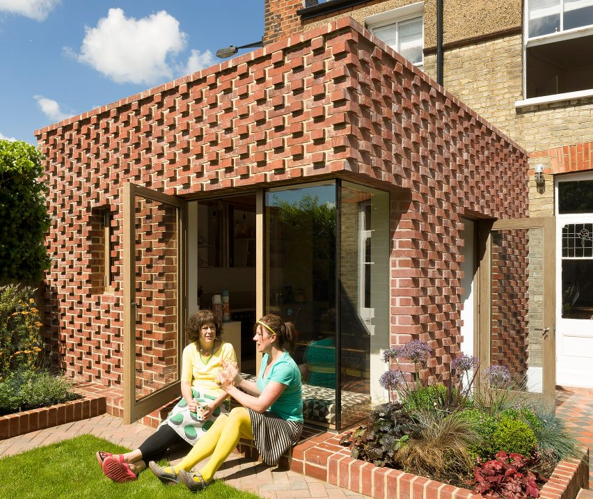 Lacy Brick by Pamphilon Architects
