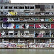Graffiti-covered Les Magasins Généraux warehouse in Paris transformed into BETC offices