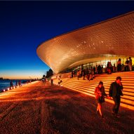 Amanda Levete's undulating MAAT museum opens on Lisbon waterfront