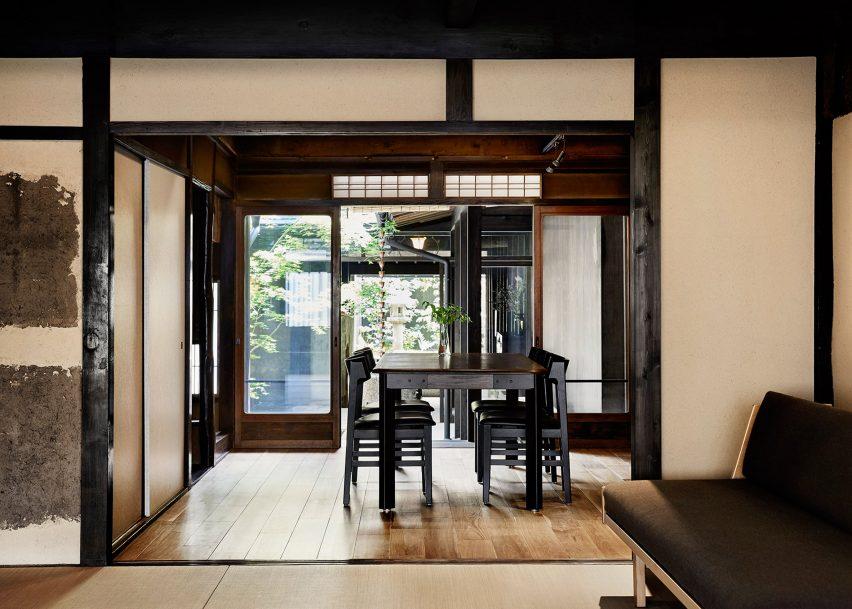 Maoyashi Machiya by Uoya Shigenori