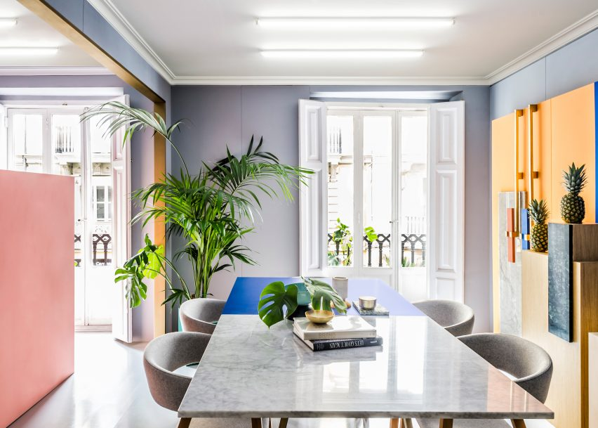 Office Interior Designs 10 of the most creative office interiors from dezeens pinterest boards dezeen magazine sisterspd
