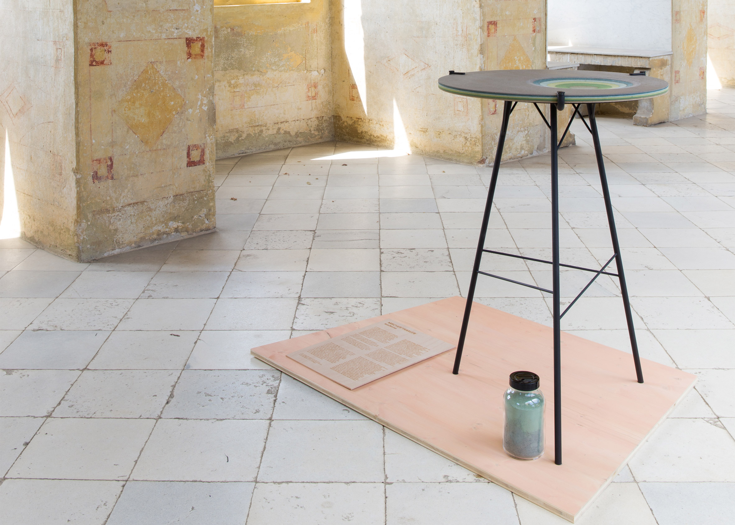 VDW: Mischer'traxler Isochrone table formed by pendulum