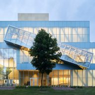 OMA's Quebec art museum extension shown in new images