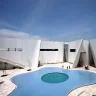 Toyo Ito's Museo Internacional del Barroco photographed by Edmund Sumner