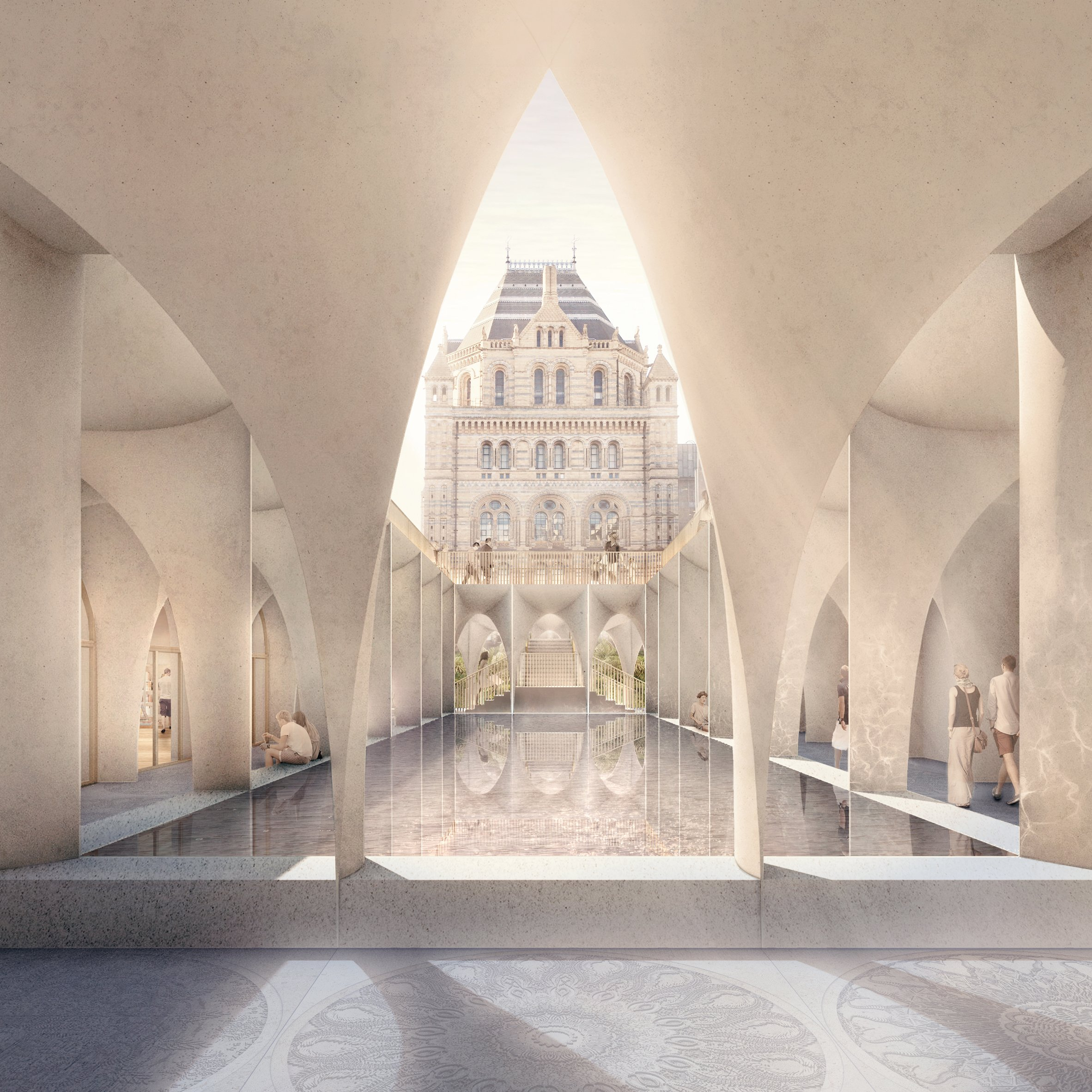 london s natural history museum set for major extension by niall