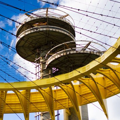 New York State Pavilion by Philip Johnson