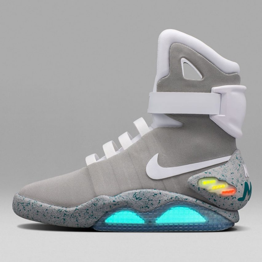 Nike Mag self-lacing shoes