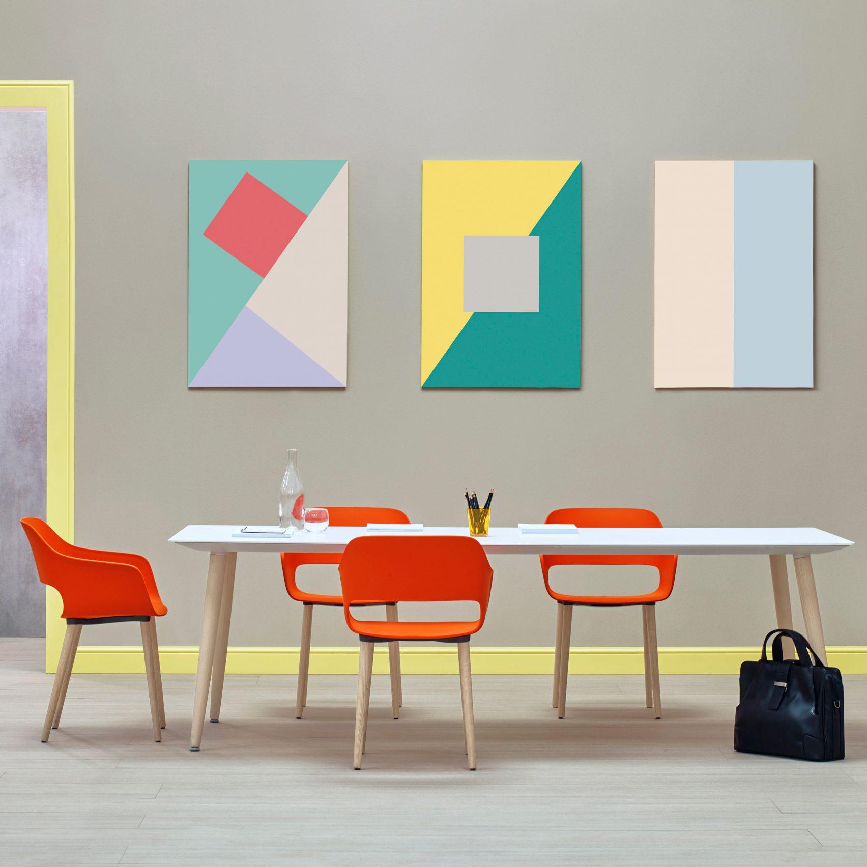 Pedrali office furniture at Orgatec 2016