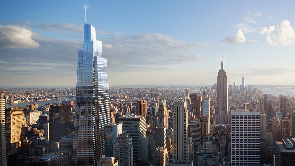 new york s future second tallest skyscraper breaks ground