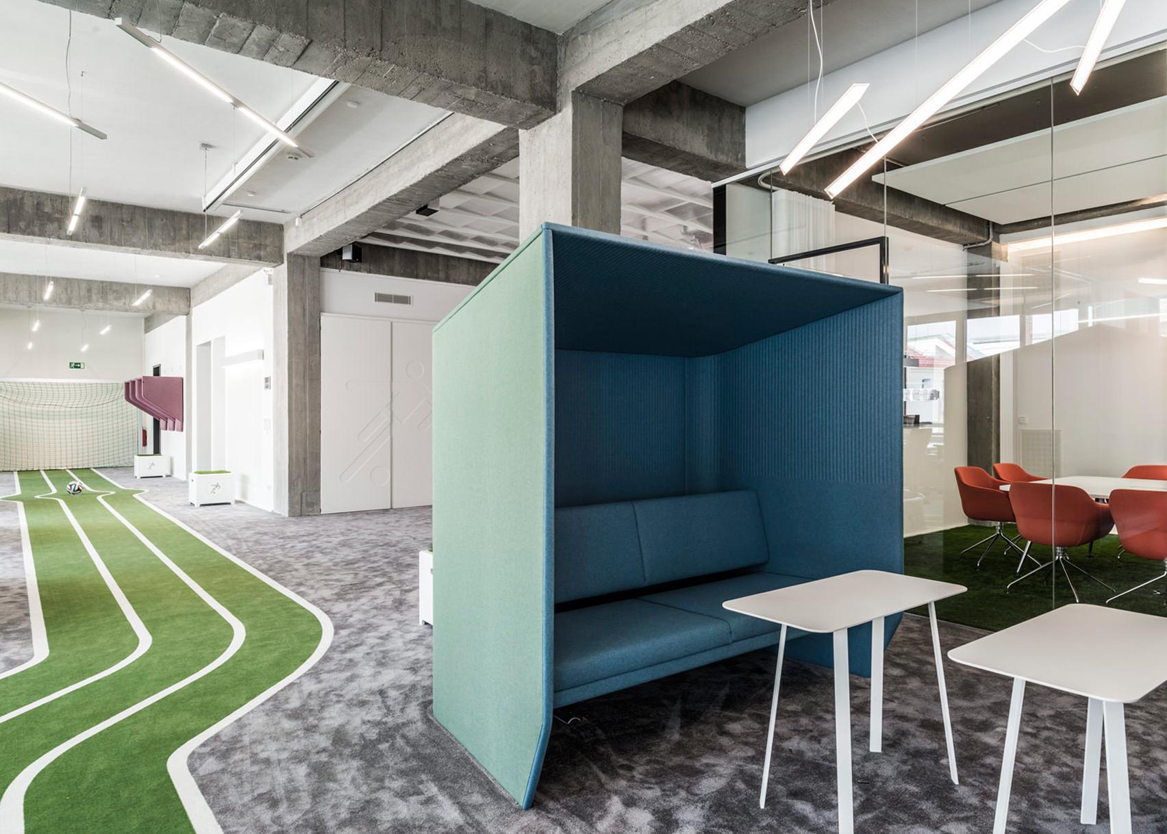 Onefootball HQ by TKEZ