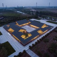Organic food plant by Arch Studio references China's hutong housing
