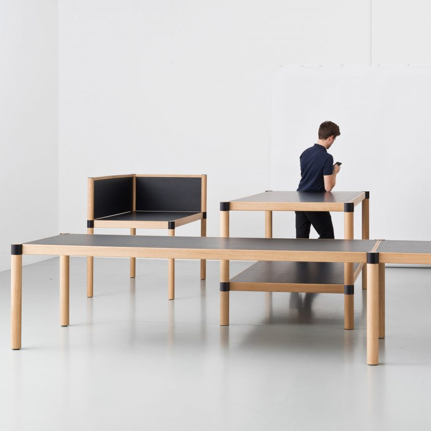 Bouroullec Brothers Design Cyl Office Furniture To Recall The Warmth