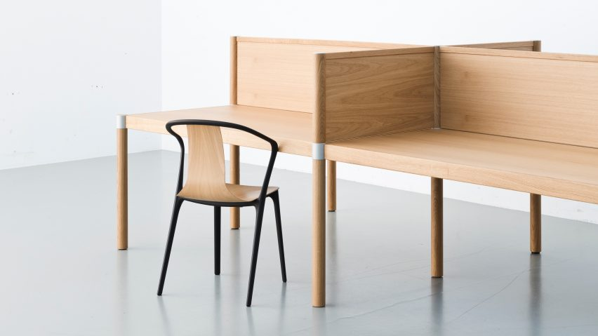 Perfect Bouroullec Brothers Design Cyl Office Furniture To Recall The Warmth Of Home