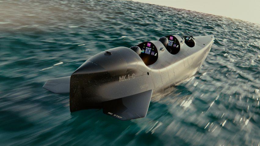 DDW: Ortega electric personal submarine