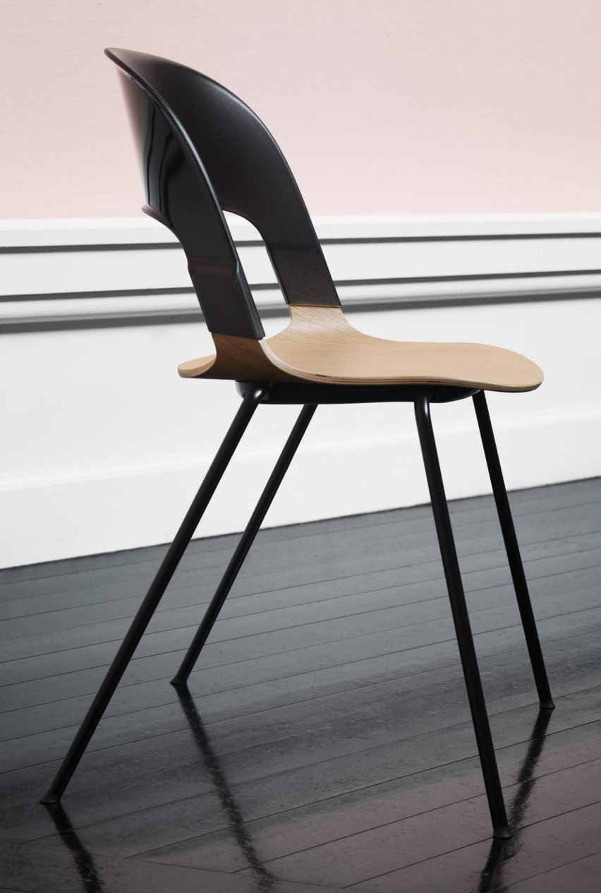 Pair Chair by Benjamin Hubert for Fritz Hansen