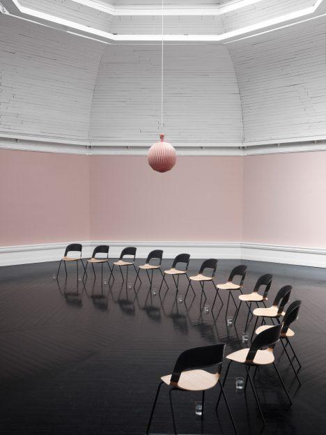 Benjamin Hubert designs mix-and-match Pair Chair for Fritz Hansen