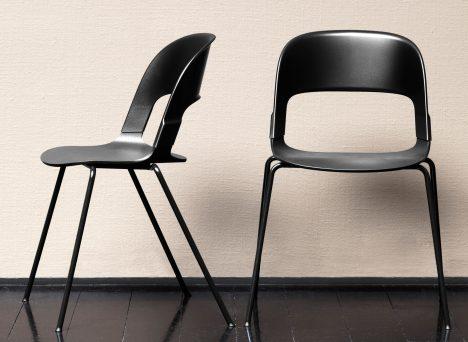Benjamin Hubert designs mix-and-match Pair Chair for Fritz Hansen  Unhinged Group