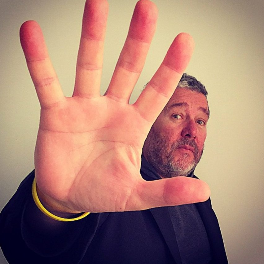 Philippe Starck joins Instagram and Facebook