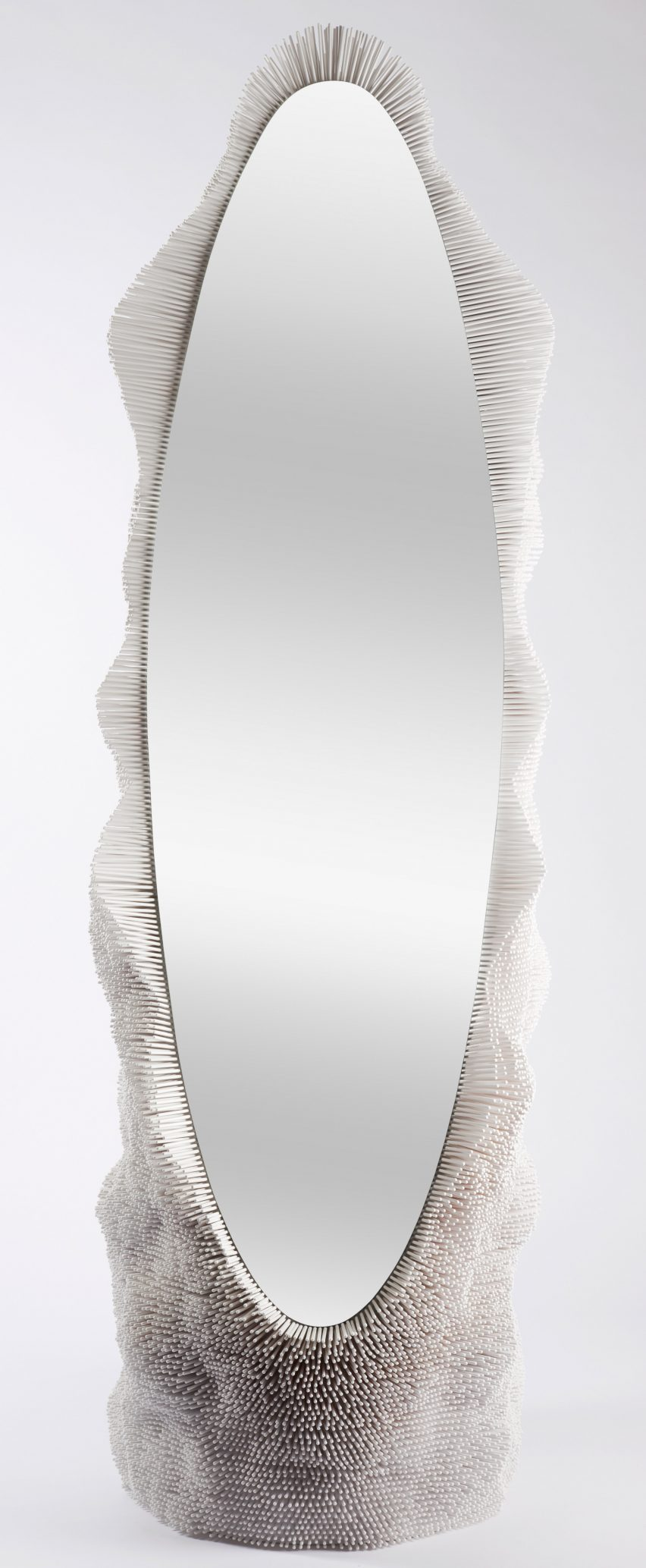 Pia Maria Raeder beech reed furniture for Galerie BSL