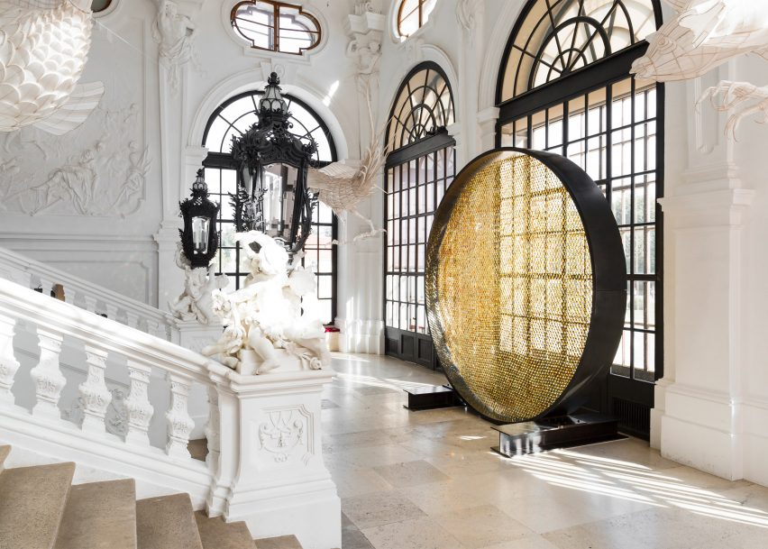 VDW: Prologue installation at Belvedere Palace Vienna by Frederikson Stallard for Swarovski