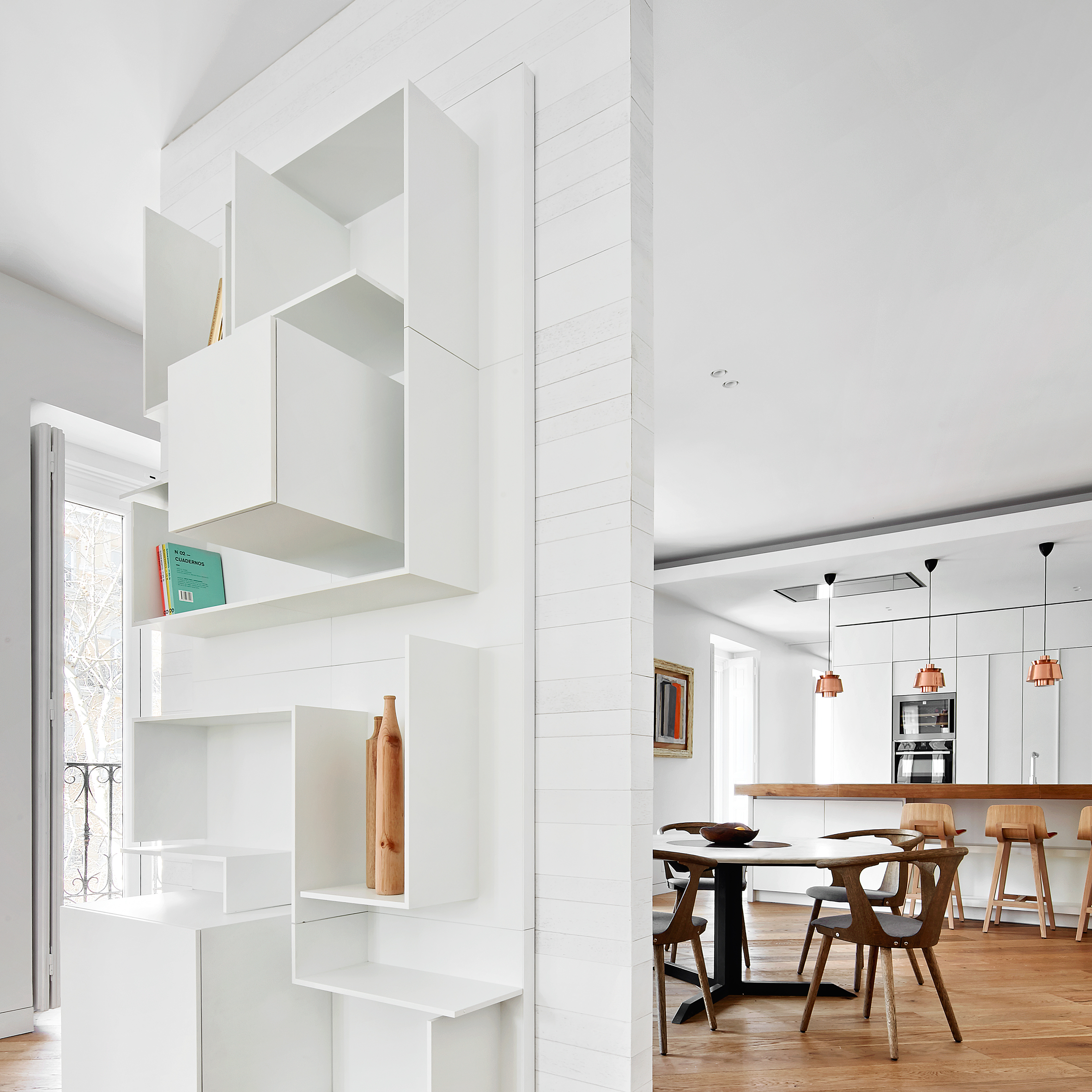 10 homes with clever storage solutions on Dezeen's Pinterest boards