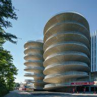 Car park by Benthem Crouwel