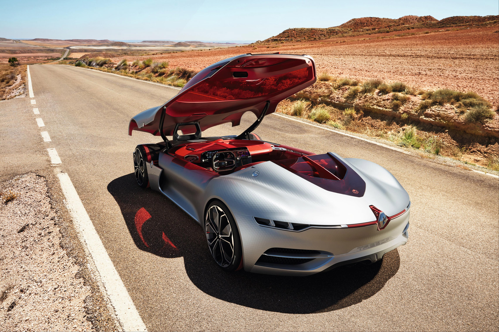 Renault Concept Car Uses Sliding Roof Instead Of Doors Creating A Water Catching Bucket On Wheels Id Blog