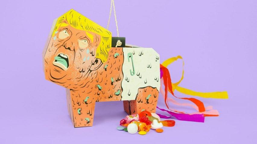 Revenge of the Mexican – The DIY Donald Trump Piñata by Caty Aguilera