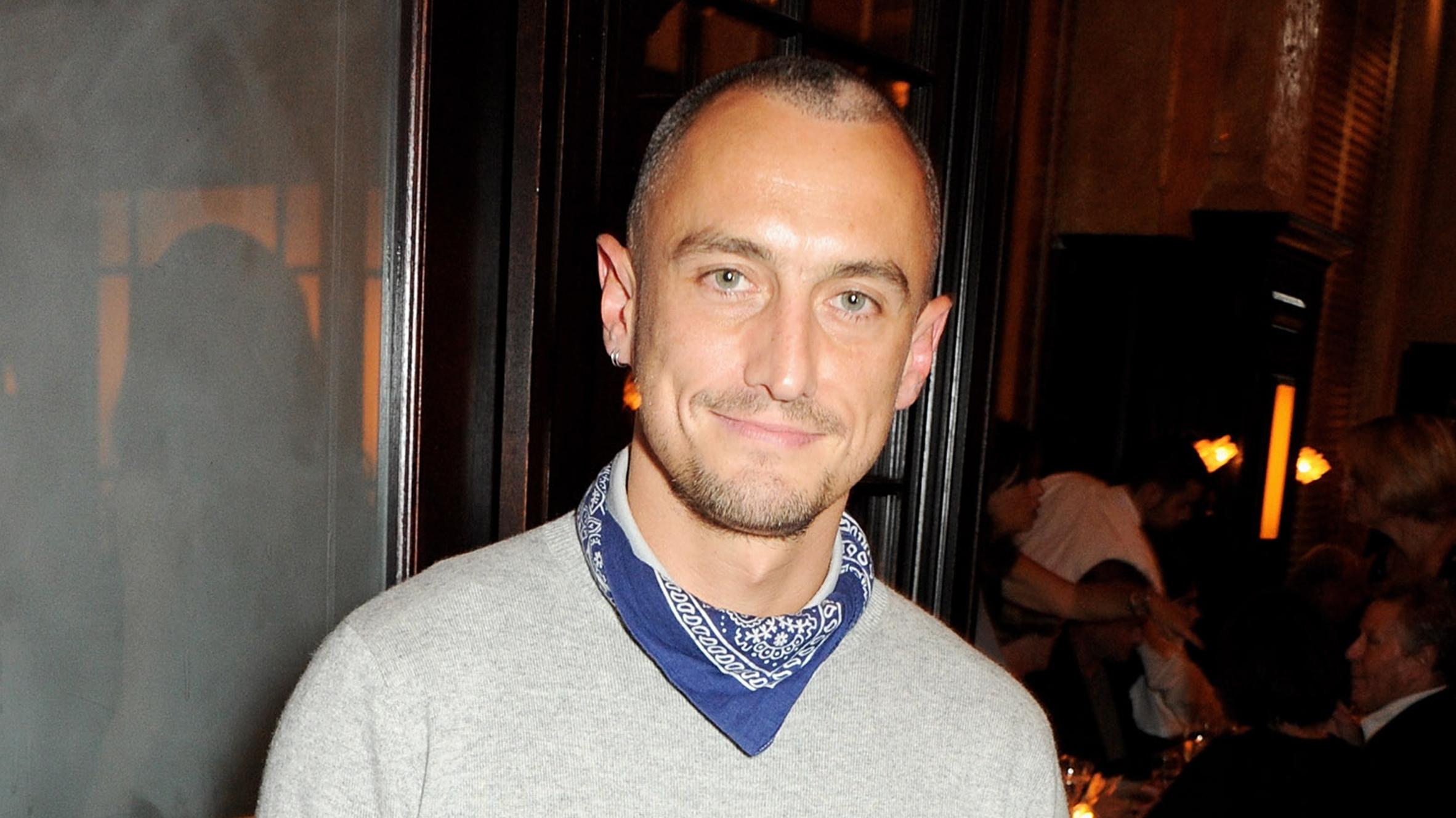 Fashion Designer Richard Nicoll Dies Suddenly Age 39