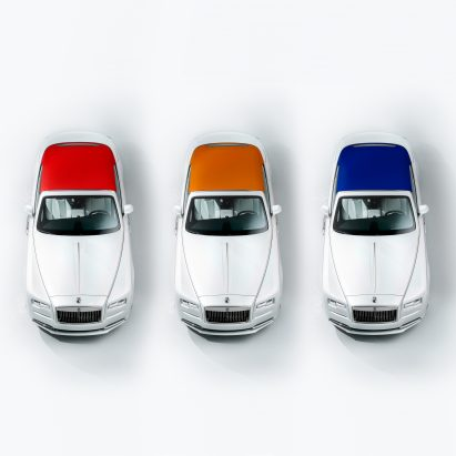 Rolls-Royce Dawn car Inspired by Fashion