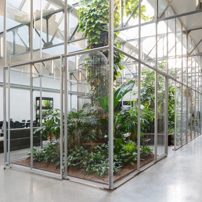 Space Encounters Converts Amsterdam Factory Into Greenhouse Filled Offices