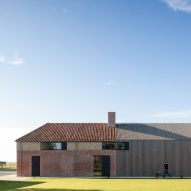Govaert & Vanhoutte Architects transforms Belgian fort into home and guesthouse