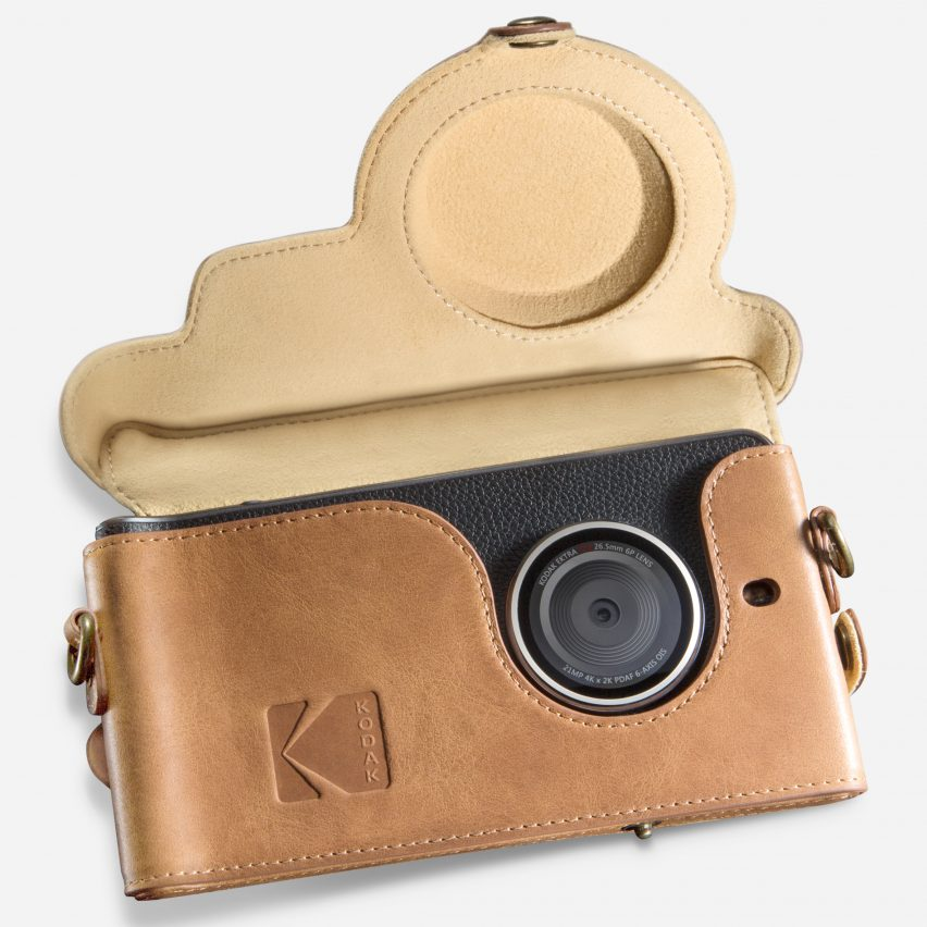 Kodak Ektra smartphone by Eastman Kodak Company and Bullitt Group