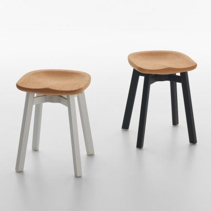 Nendo adds cork seat to its sustainable range of SU stools for Emeco : stool designs - islam-shia.org
