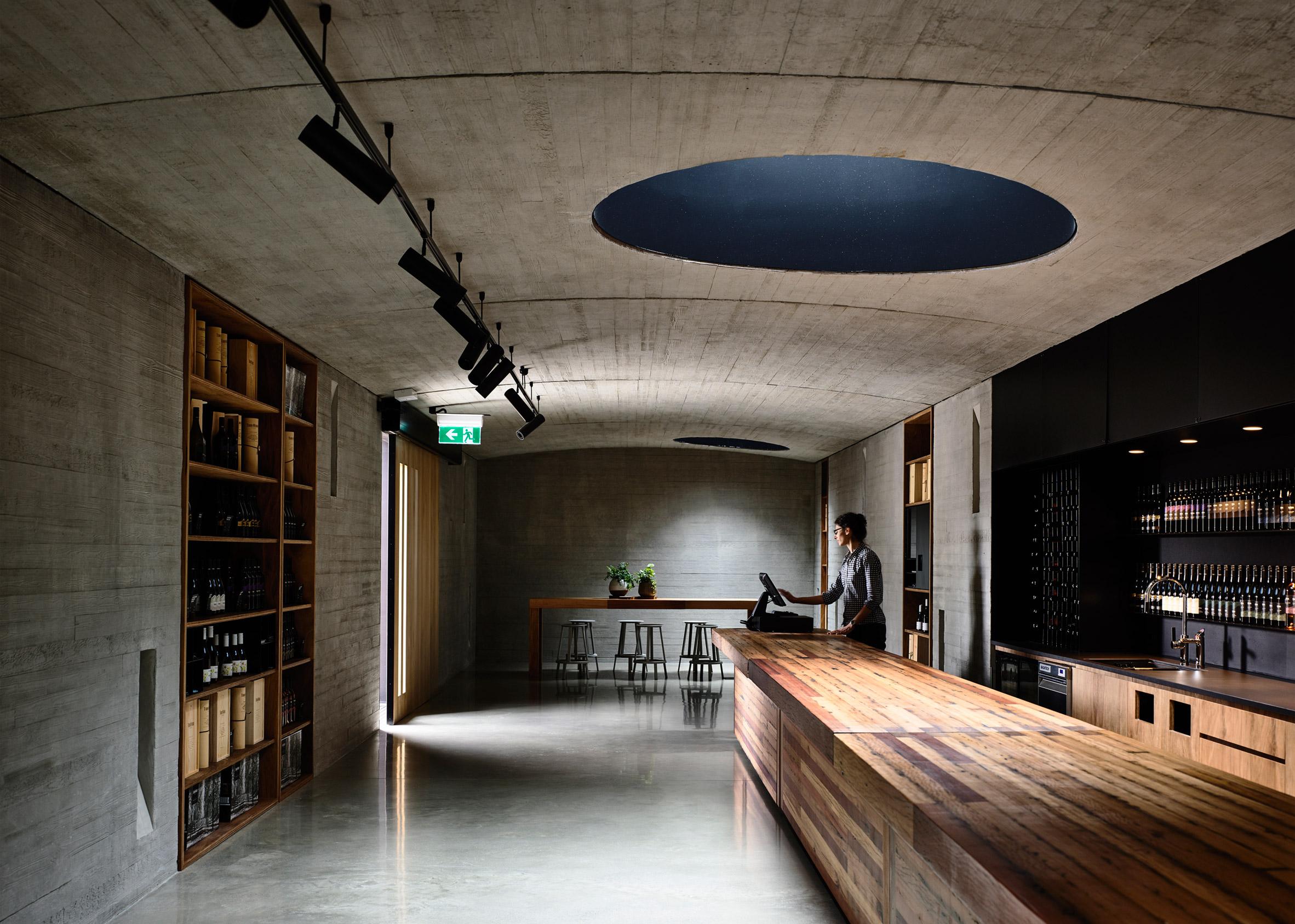 Tarrawarra Cellar Door by Kerstin Thompson Architects (Photography by Derek Swalwell)
