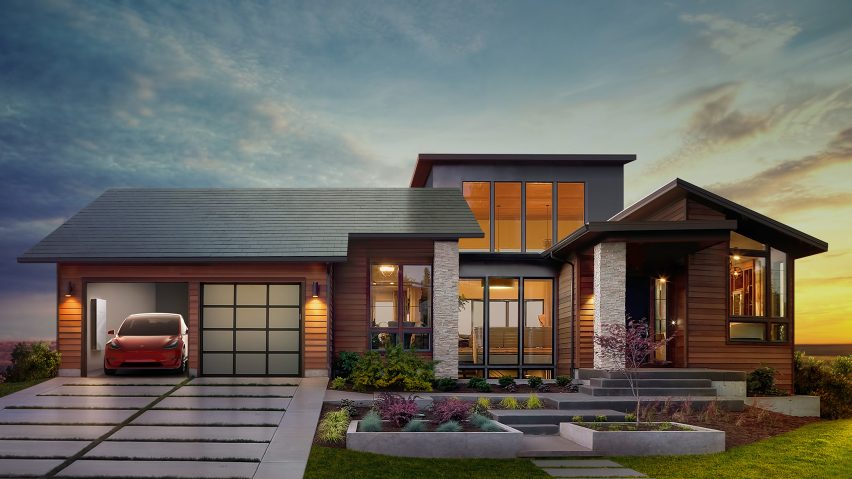 Tesla unveils inconuous solar roof tiles with
